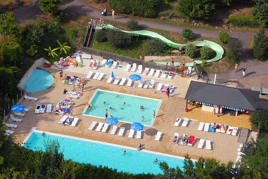 Camping  Camping Château Le Verdoyer