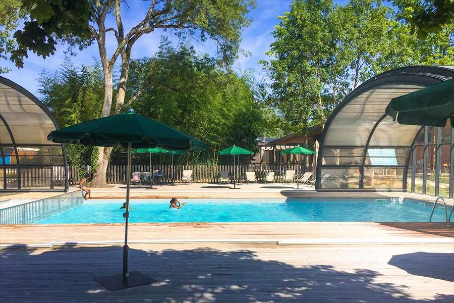 Camping Huttopia Les Chateaux