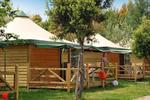 Chalet toilé with air-conditioning 4/5 persons 2 rooms
